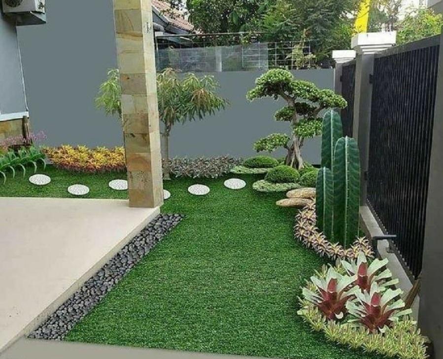 18 Inspirasi Taman Minimalis Depan Rumah | Beragam Desain Dengan Tanaman  Berbeda | Rumah123.com