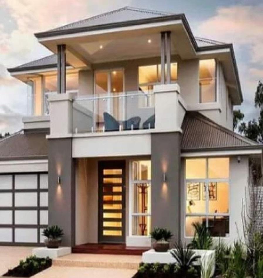 Hasil gambar untuk Model Rumah 2 Lantai Sederhana Tapi Modern