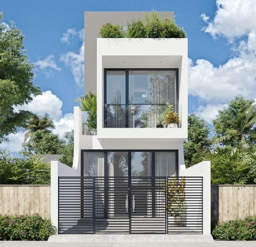 14 Desain Rumah Minimalis 2 Lantai Banyak Pilihan Yang Bisa Menjadi Inspirasi Rumah123 Com
