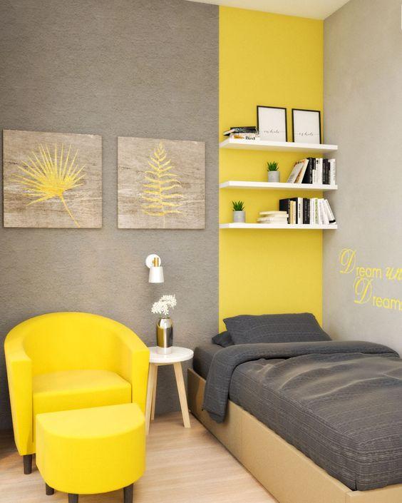 kombinasi warna kuning