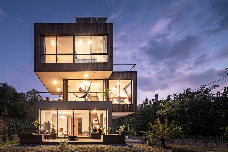8 Desain Rumah Minimalis 3 Lantai Mau Pilih Yang Mana Rumah123 Com