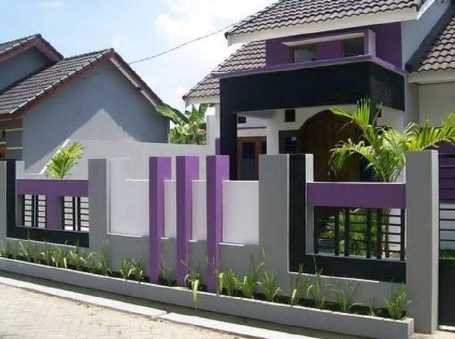 15 Inspirasi Warna Pagar Rumah Yang Cantik Dan Bisa Bikin Orang Terpesona Rumah123 Com