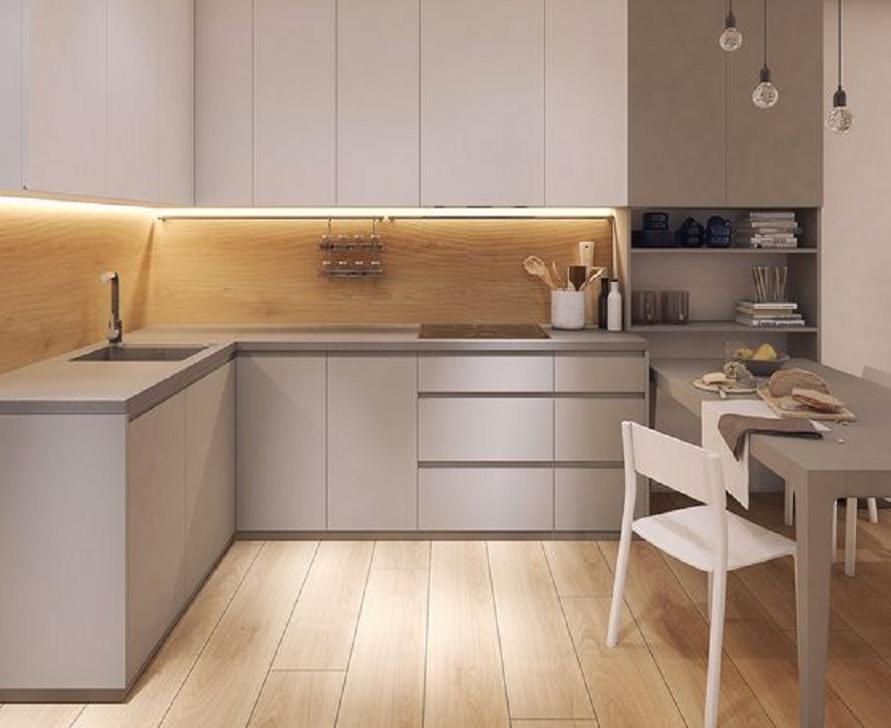 10 Desain Kitchen Set Minimalis Modern Cocok Untuk Dapur Kecil Di Rumah Kamu Rumah123 Com