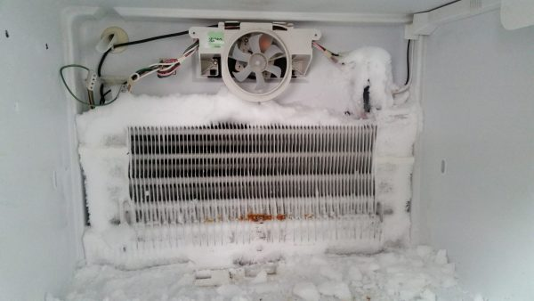 kulkas tidak dingin karena sistem defrost rusak