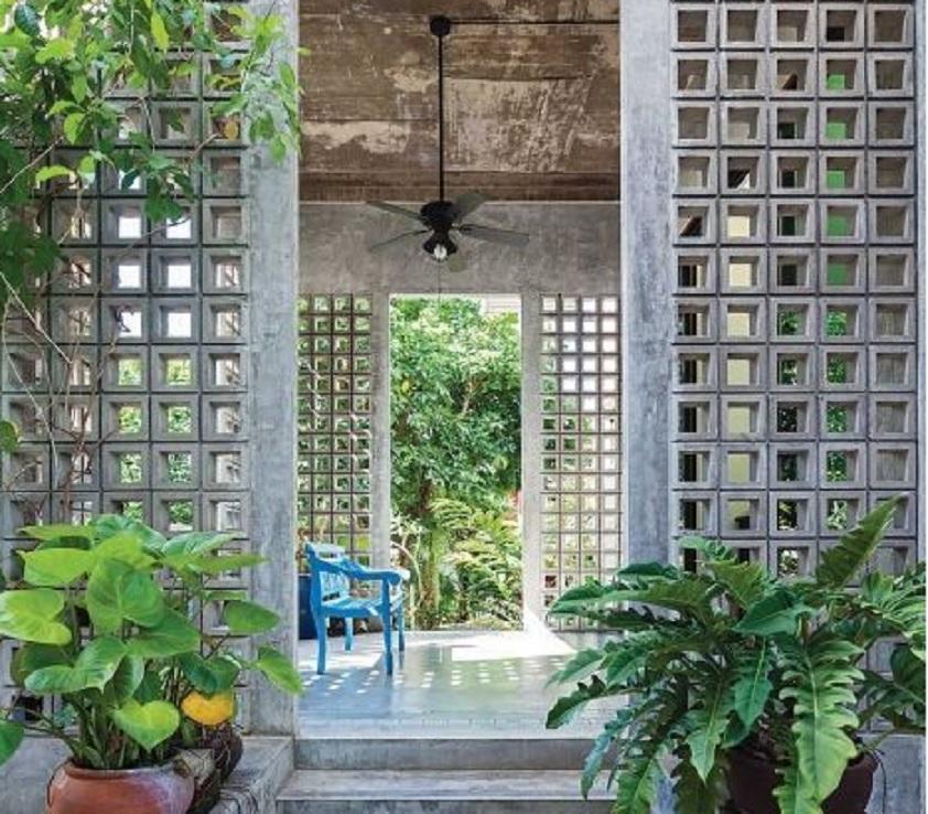 rumah tropis modern