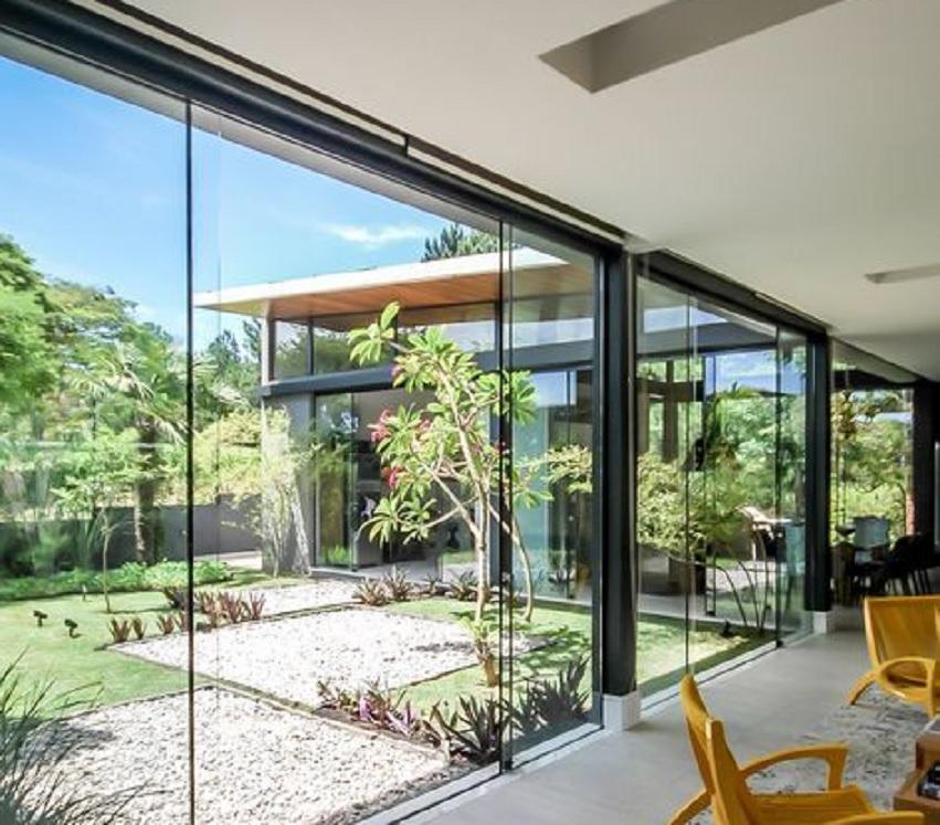 12 Inspirasi Desain Rumah Tropis Modern Yuk Bikin Hunian Nyaman Seperti Ini Rumah123 Com