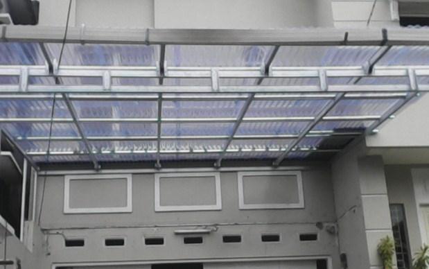 atap transparan solar tuff