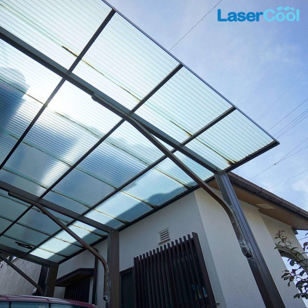 atap transparan lasercool