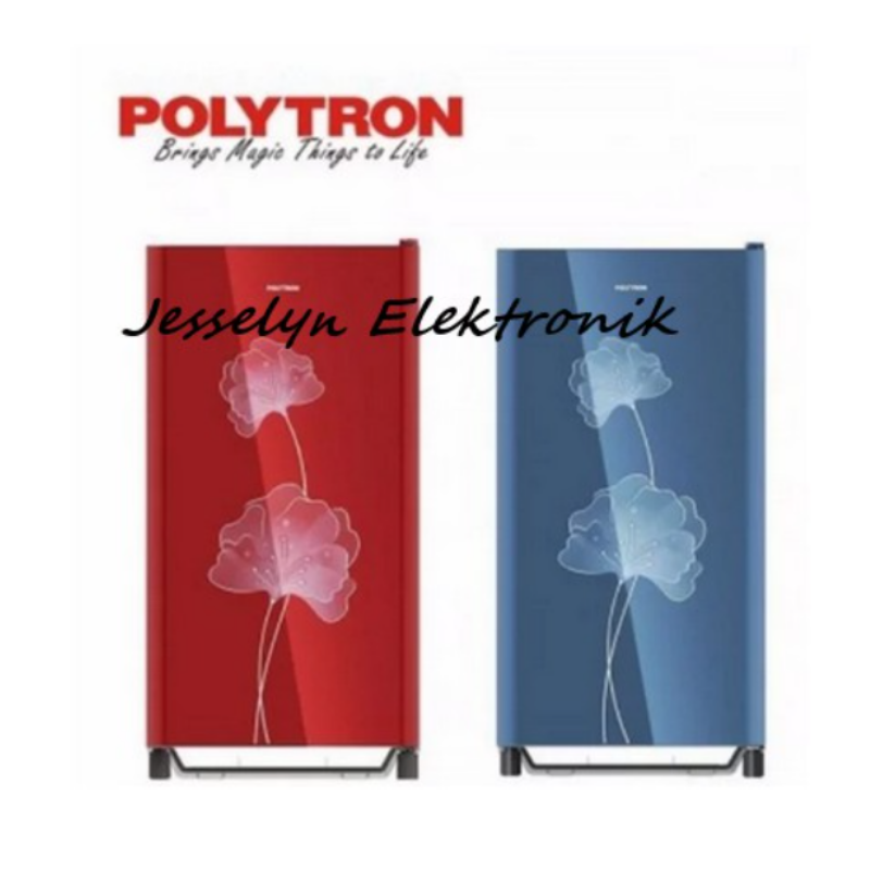 Kulkas 1 pintu Polytron