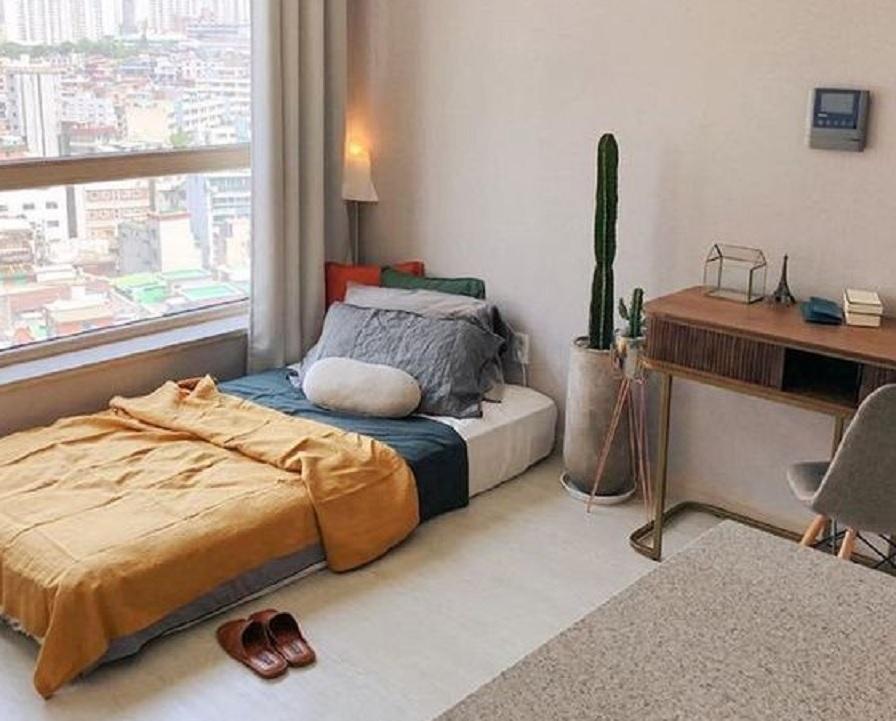 11 Inspirasi Desain Kamar Tidur Sederhana Pas Buat Kamu Simpel Banget Rumah123 Com
