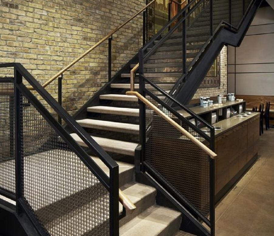 desain railing tangga