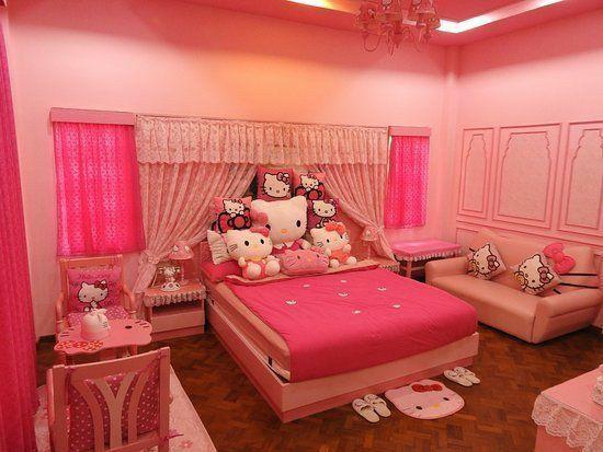 Dekorasi Kamar Hello Kitty Ini Tampak Menarik Simak 9 Inspirasi Terbaiknya Rumah123 Com