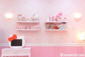 Dekorasi Kamar Hello Kitty Ini Tampak Menarik, Simak 9 Inspirasi Terbaiknya!