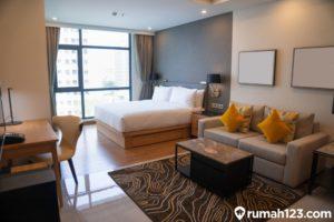 10 Contoh Desain Ruang Tamu Minimalis Terhits untuk Apartemen Studio