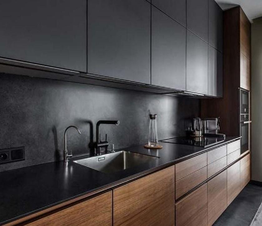 10 Rekomendasi Keramik Dapur Minimalis Hitam Putih Atau Warna Lainnya Rumah123 Com