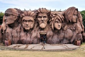 Naruto Diisukan Wafat, Yuk Berkunjung ke Desa Konoha di Kehidupan Nyata