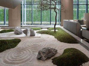 16 Desain Taman Kering dalam Rumah yang Semakin Mempercantik Hunian