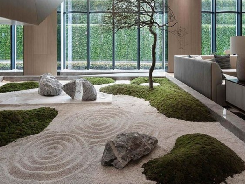 16 Desain Taman Kering Dalam Rumah Yang Semakin Mempercantik Hunian |  Rumah123.com