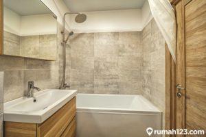 11 Kamar Mandi Minimalis dengan Bathtub, Kecil tapi Terlihat Mahal!