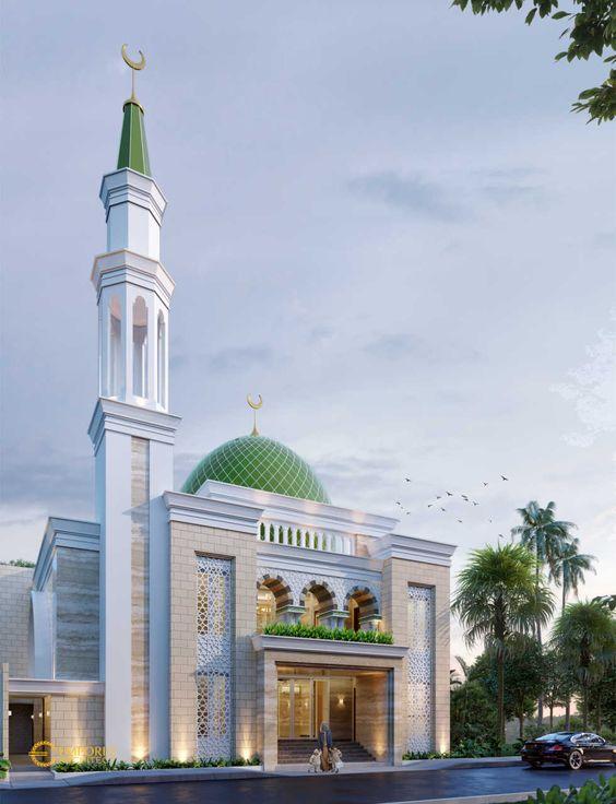 12 Desain Masjid Minimalis Modern yang Indah dan Bikin ...