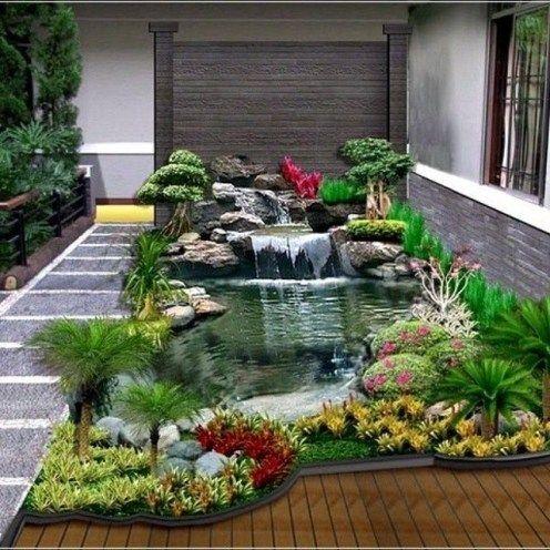 12 gambar taman samping rumah minimalis | cocok di lahan
