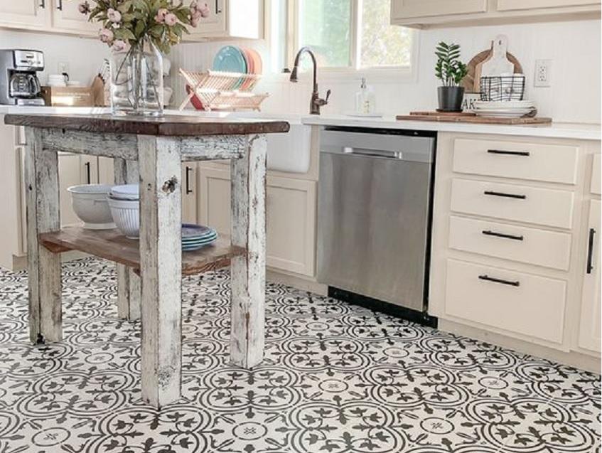 keramik lantai dapur