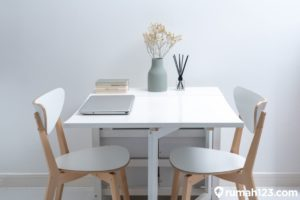 10 Meja Makan Minimalis Lipat yang Cocok Buat Ruangan Sempit