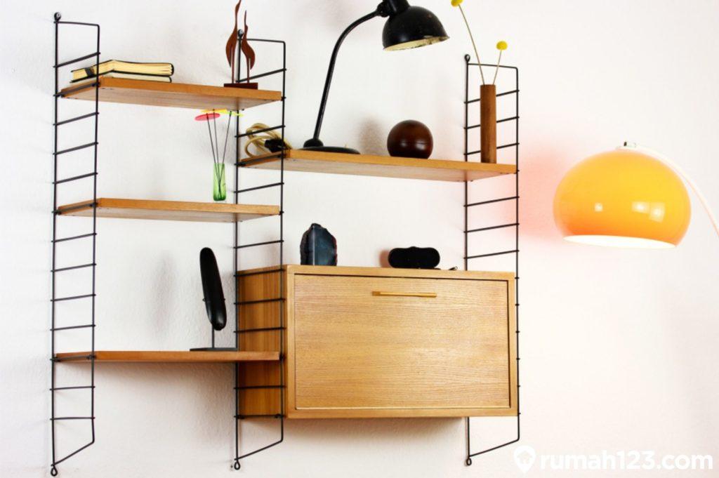 11 Inspirasi Desain Rak Dinding Minimalis | Estetis dan ...