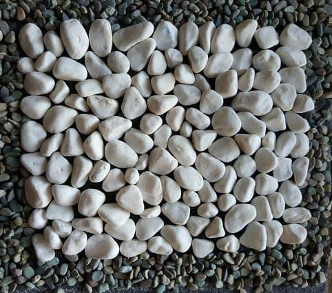 batu koral putih itali