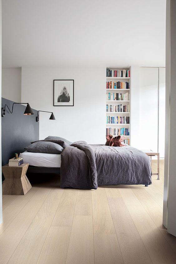 11 Inspirasi Kamar Tidur dengan Lantai Parket Minimalis ...