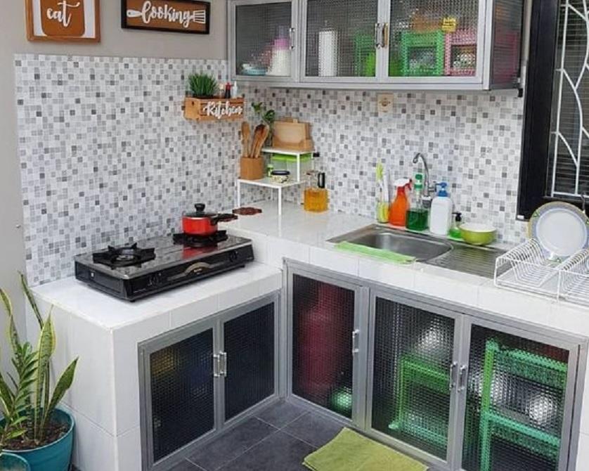 Hias Ruang Dapur Sempit