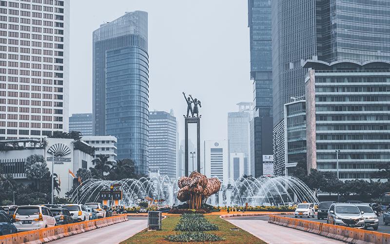 kota terpadat di indonesia