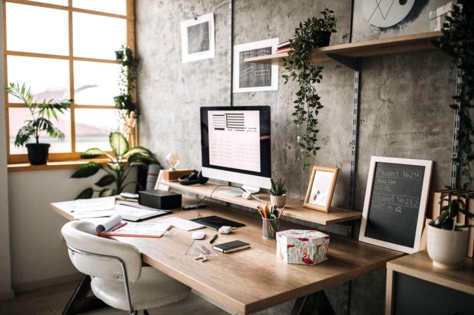 detail Desain Rumah Kantor Minimalis