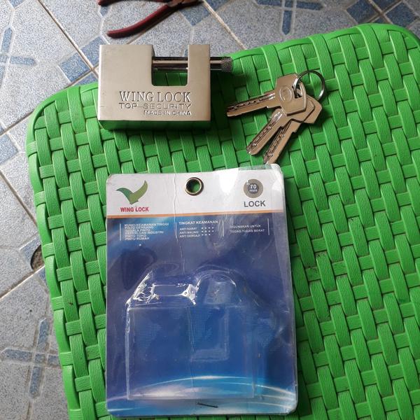 gembok anti maling