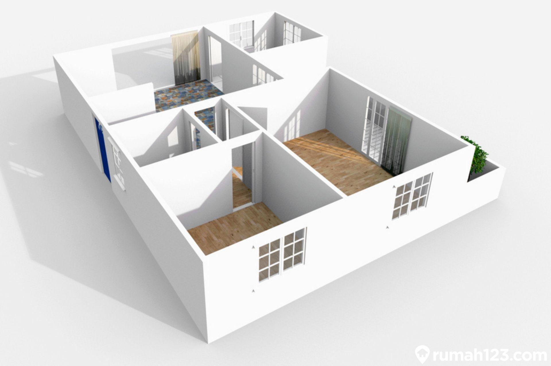 11 Contoh Denah Rumah Minimalis 3 Kamar Tidur Yang Luas Dan Nyaman |  Rumah123.com