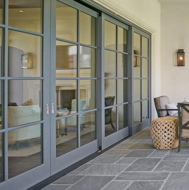 pintu kaca minimalis