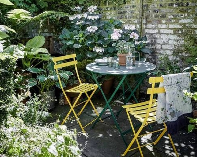 taman kecil belakang rumah