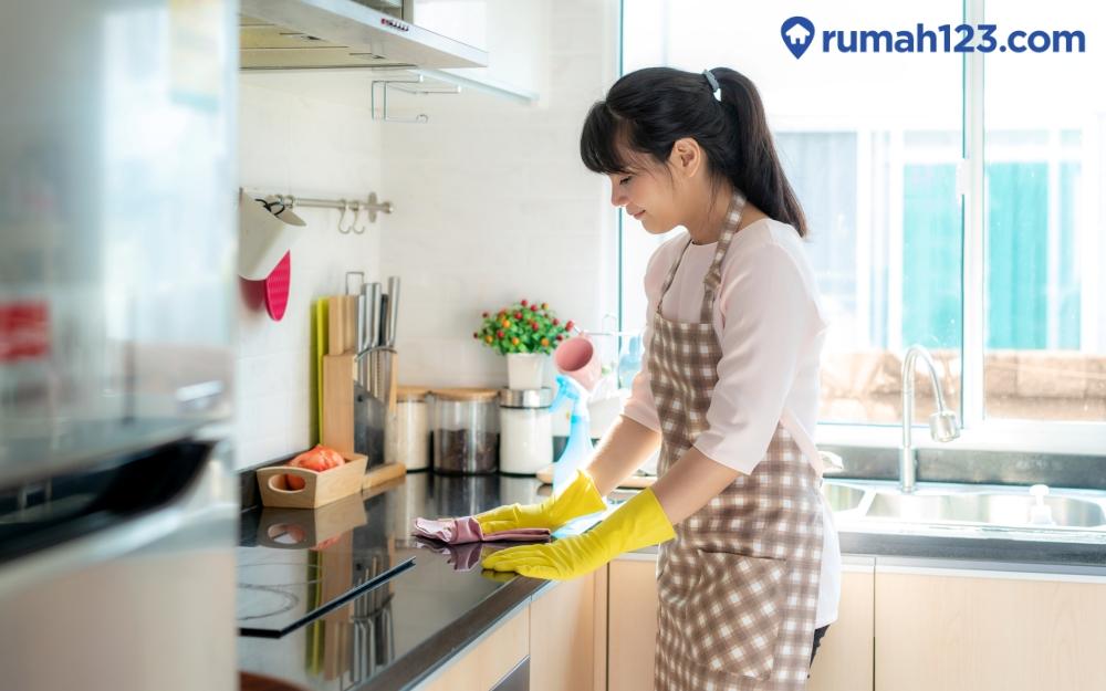 Cara Menata Dapur Rapi dan Bersih