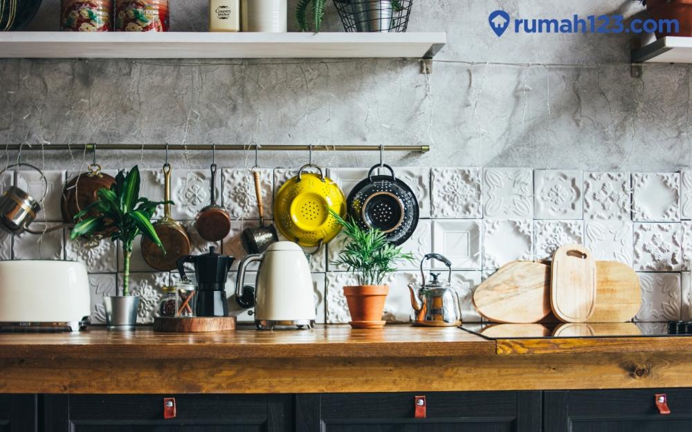 cara menata dapur dan bersih