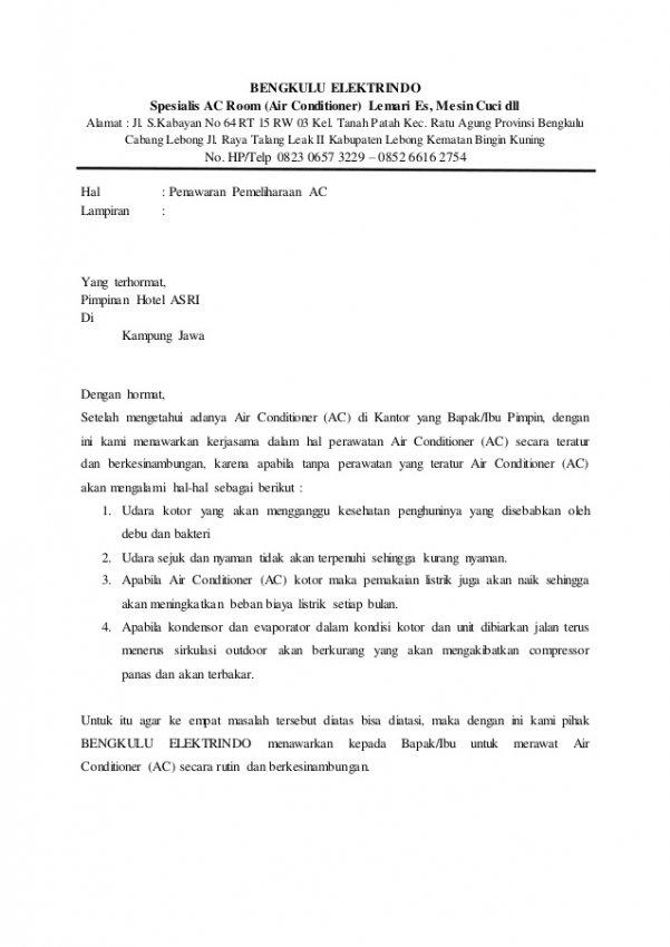 Cara Membuat Surat Penawaran Barang Dan Jasa Beserta Contohnya Rumah123 Com