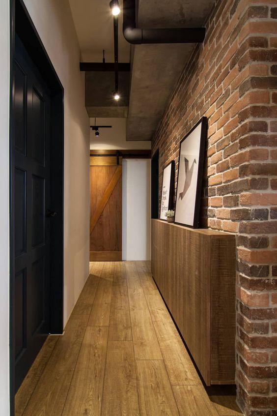lorong rumah minimalis