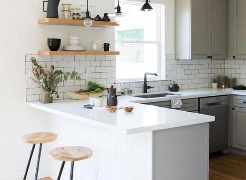 Hasil gambar untuk Inspirasi Desain Interior Dapur Minimalis Type 36