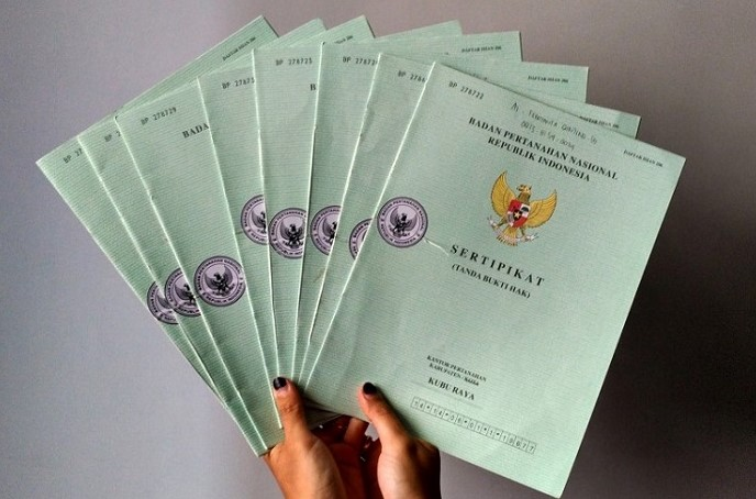 jenis sertifikat tanah
