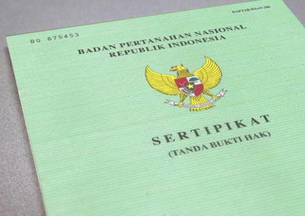 sertifikat tanah dan fungsinya