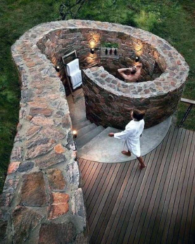 desain kamar mandi outdoor