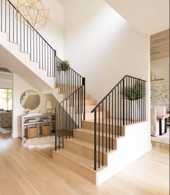 tangga rumah kontemporer