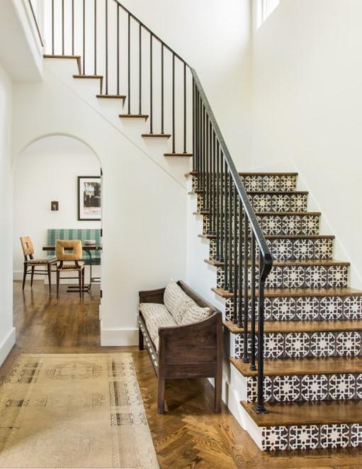 tangga keramik