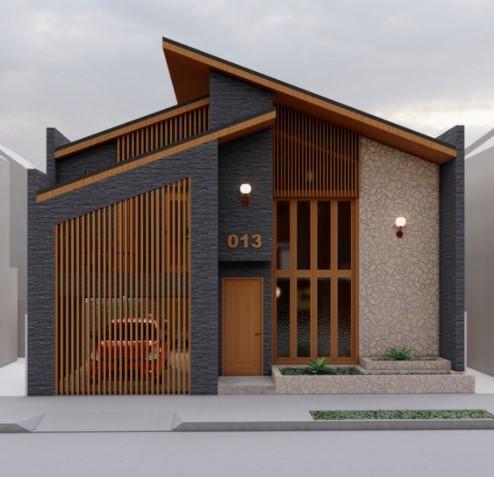 15 gambar tampak depan rumah minimalis, tetangga auto iri