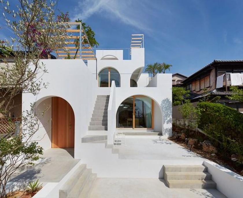 tampak depan rumah minimalis