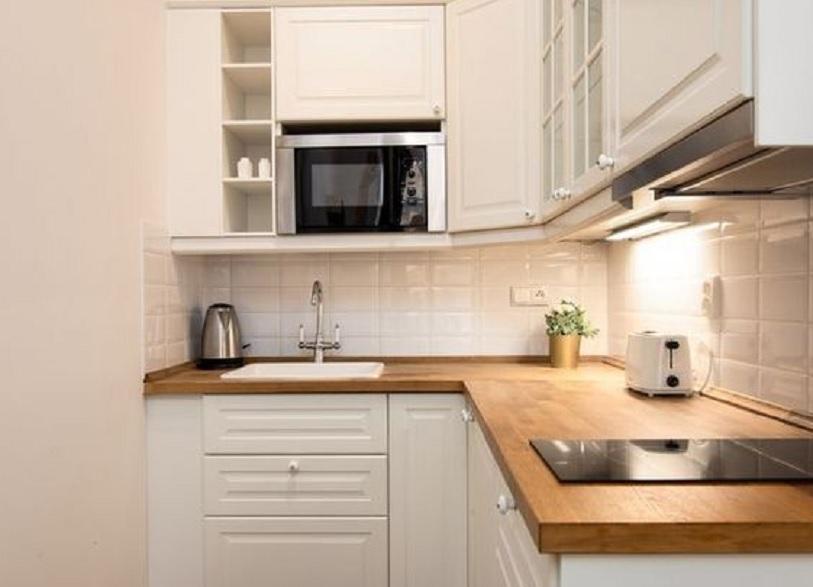 model kitchen set minimalis untuk dapur kecil